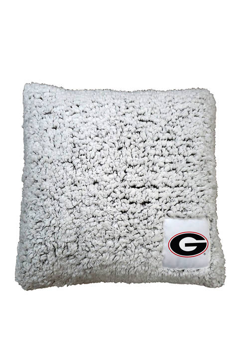 NCAA Georgia Bulldogs Frosty Throw Pillow