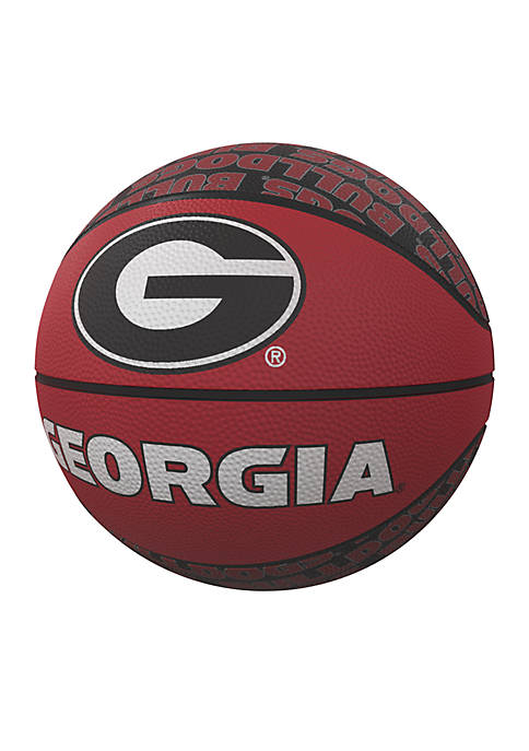 Logo Georgia Bulldogs Mini Size Rubber Basketball