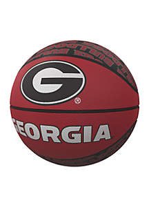 Georgia Bulldogs Mini Size Rubber Basketball