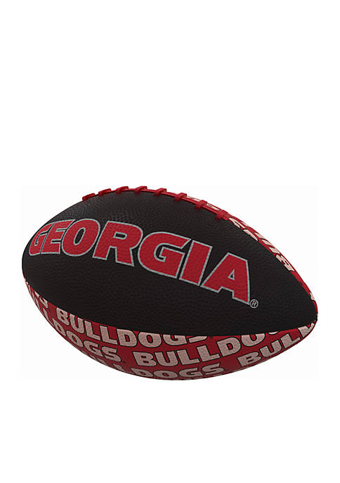 Logo UGA Mini Size Rubber Football