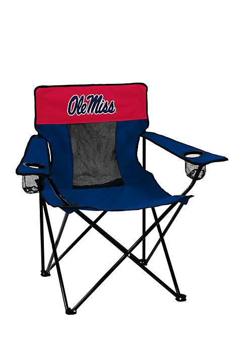 Logo Ole Miss Elite Chair