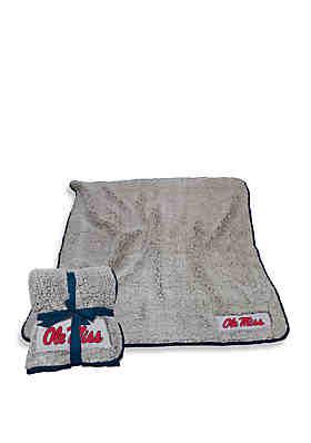 708ceec5e Logo Ole Miss Frosty Fleece Blanket ...
