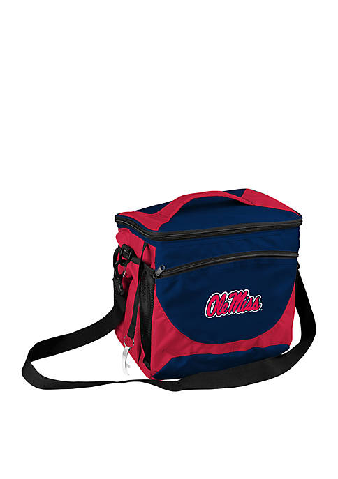 Logo Ole Miss 24 Can Cooler