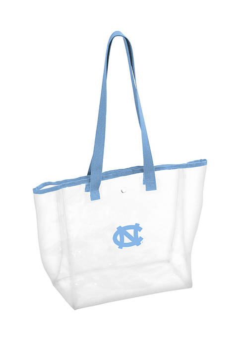 Logo NCAA UNC Tarheels Clear Stadium Tote