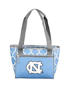 Logo University Of North Carolina 16 Can Cooler Tote