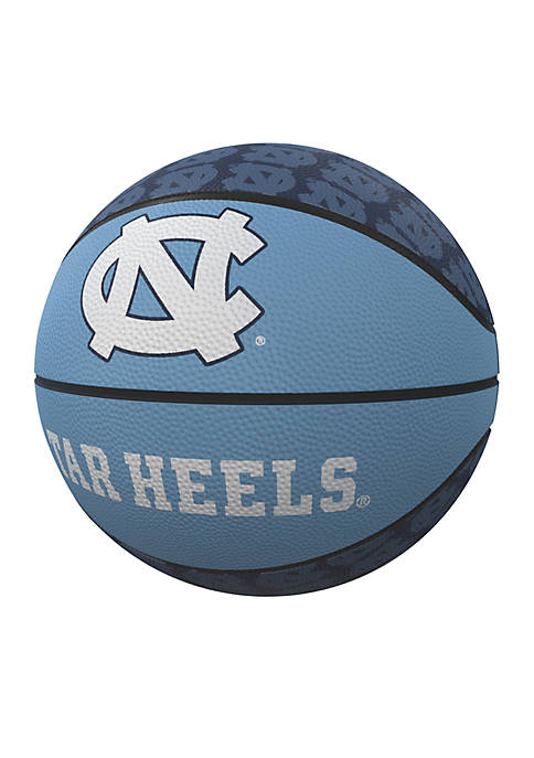 Logo UNC Tarheels Mini Size Rubber Basketball