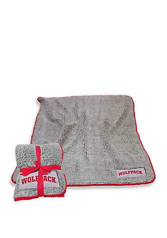 Logo Nc State Wolfpack Frosty Fleece Throw Blanket Belk