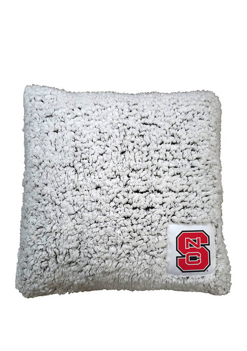Logo NCAA NC State Wolfpack Frosty Throw Pillow