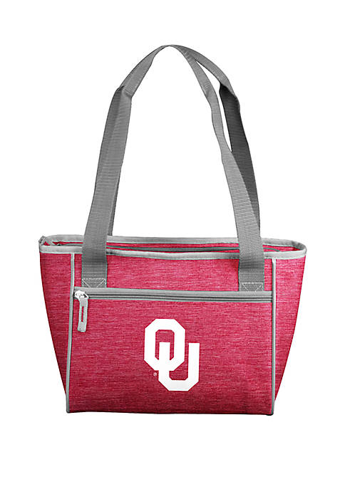 Logo Oklahoma University Sooners 16 Can Cooler Tote