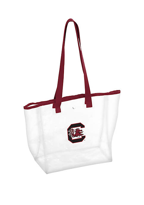 Logo USC Gamecocks Clear Stadium Tote