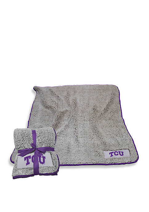 Logo Texas Christian University Frosty Fleece Blanket