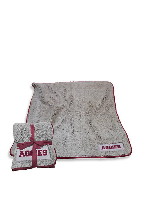 Logo Texas A&M Frosty Fleece Blanket