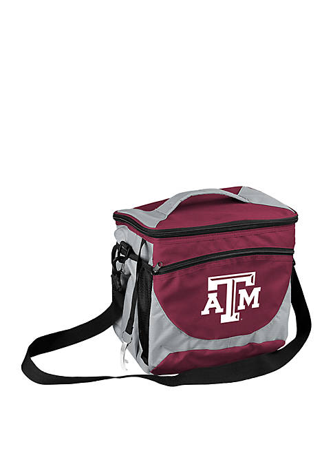 Logo Texas A&M 24-Can Cooler