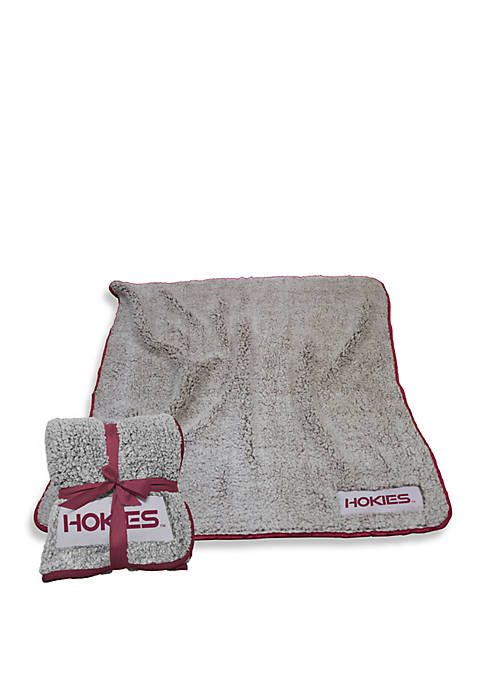 Logo Virginia Tech Frosty Fleece Blanket