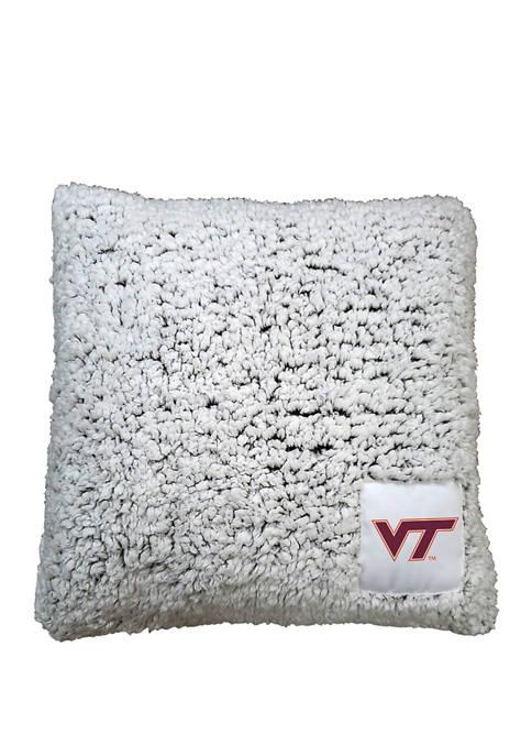 NCAA Virginia Tech Hokies Frosty Throw Pillow