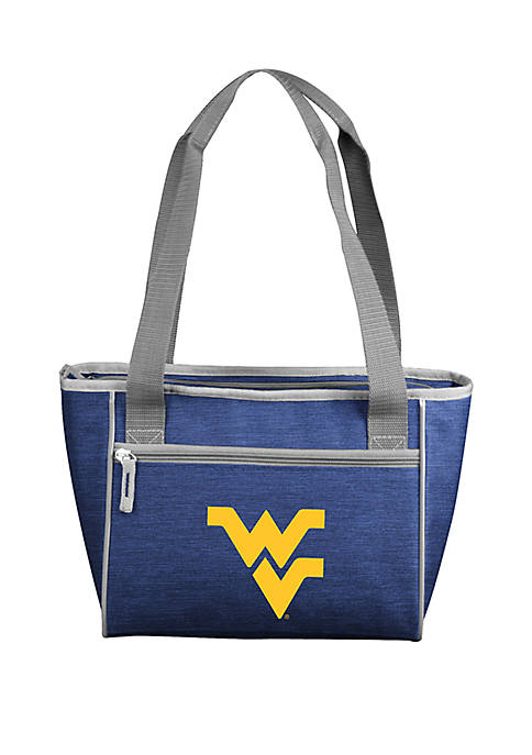 Logo WVU Mountaineers 16 Can Cooler Tote