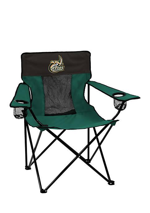Logo Charlotte 49ers Elite Chair