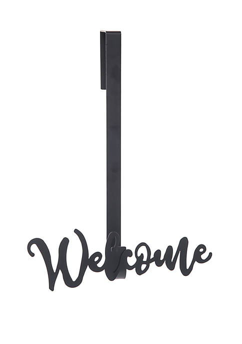 Metal Welcome Wreath Hanger