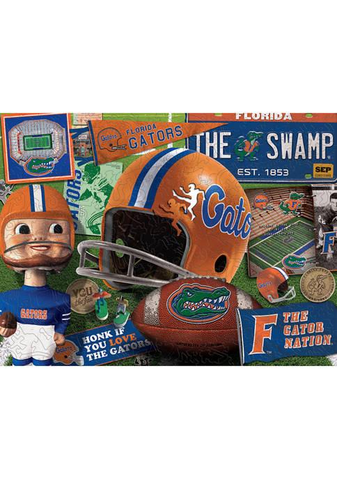 You The Fan NCAA Florida Gators Wooden Retro
