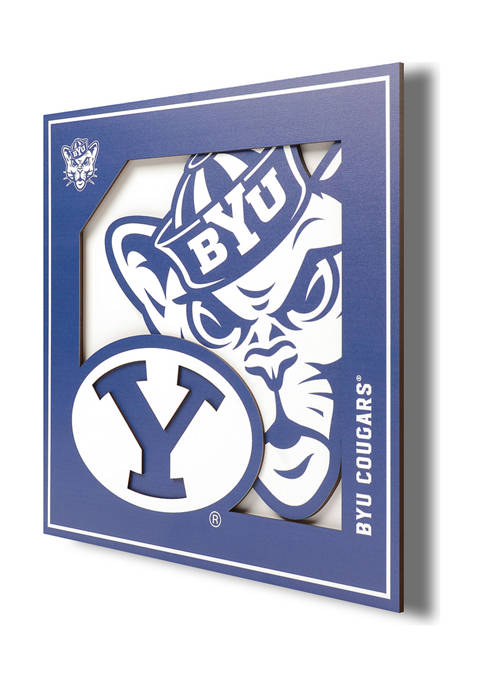 You The Fan NCAA BYU Cougars 3D Logo
