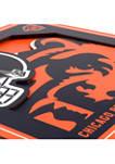 NFL Chicago Bears 3D Logo Series Wall Art-12x12