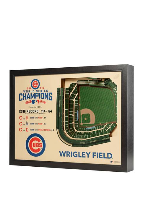 StadiumViews MLB Chicago Cubs World Series Champions 25
