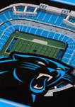 NFL Carolina Panthers 3D StadiumViews Set of 2 Coasters - Bank of America Stadium