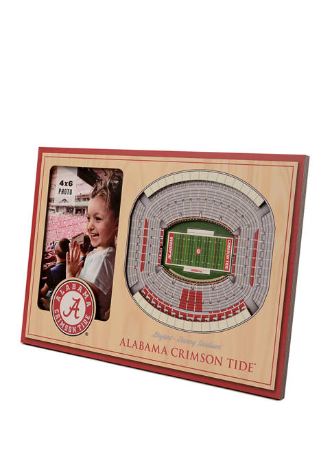 NCAA Alabama Crimson Tide 3D StadiumViews Picture Frame - Bryant-Denny Stadium