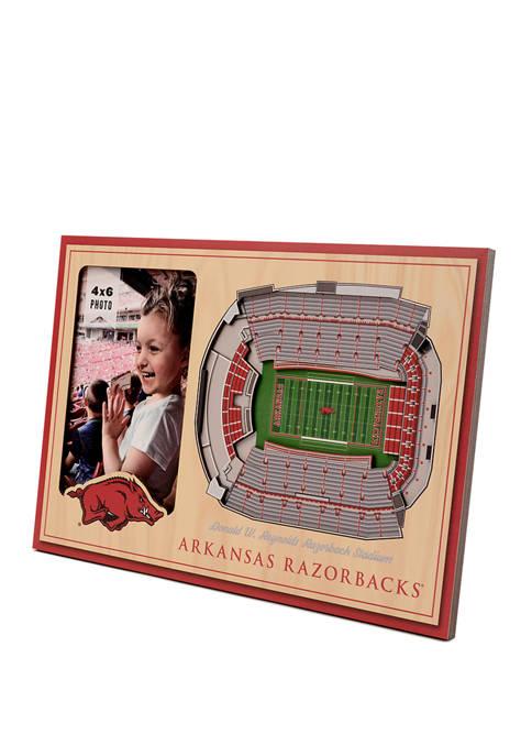 You The Fan NCAA Arkansas Razorbacks 3D StadiumViews