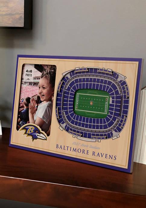 NFL Baltimore Ravens 3D StadiumViews Picture Frame - M&T Bank Stadium