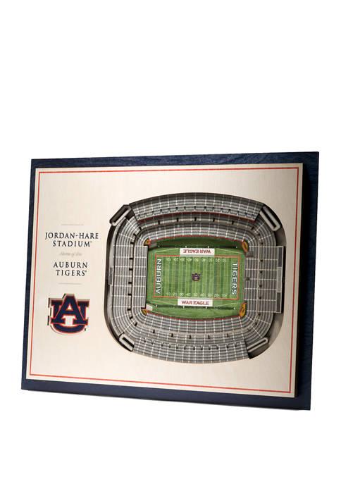 You The Fan NCAA Auburn Tigers 5-Layer Stadium