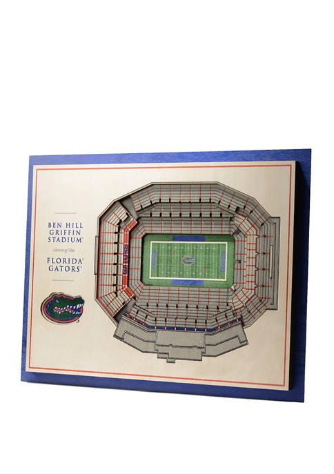 You The Fan NCAA Florida Gators 5-Layer Stadium