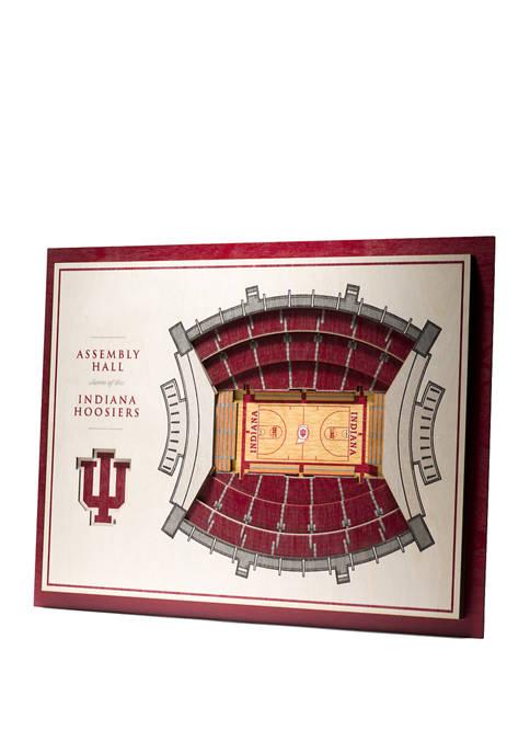You The Fan NCAA Indiana Hoosiers 5-Layer Stadium