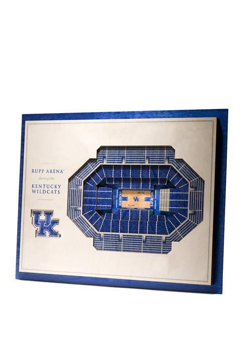 You The Fan NCAA Kentucky Wildcats 5-Layer Stadium