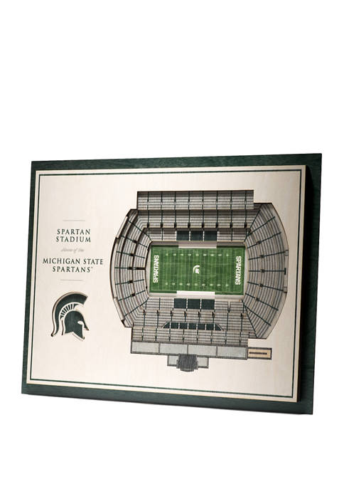 You The Fan NCAA Michigan State Spartans 5-Layer