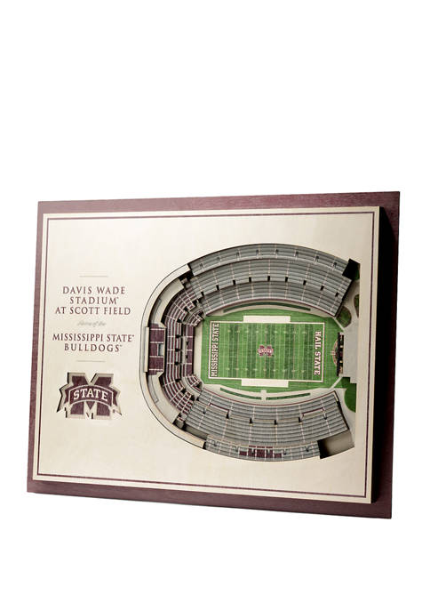 You The Fan NCAA Mississippi State Bulldogs 5-Layer