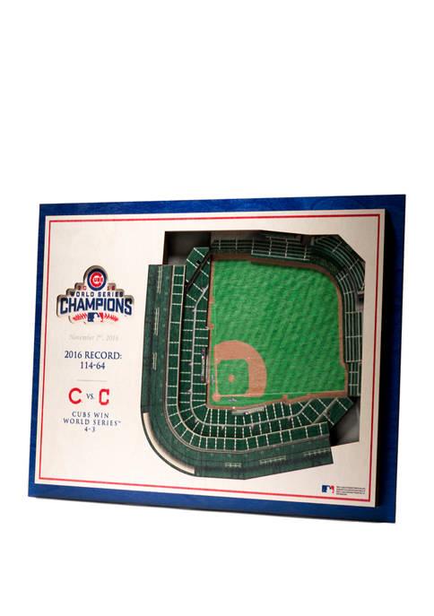 StadiumViews MLB Chicago Cubs World Series Champions 5