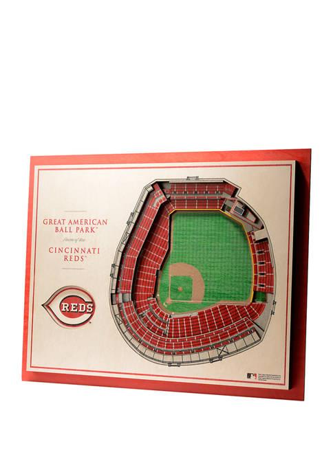You The Fan MLB Cincinnati Reds 5-Layer StadiumViews