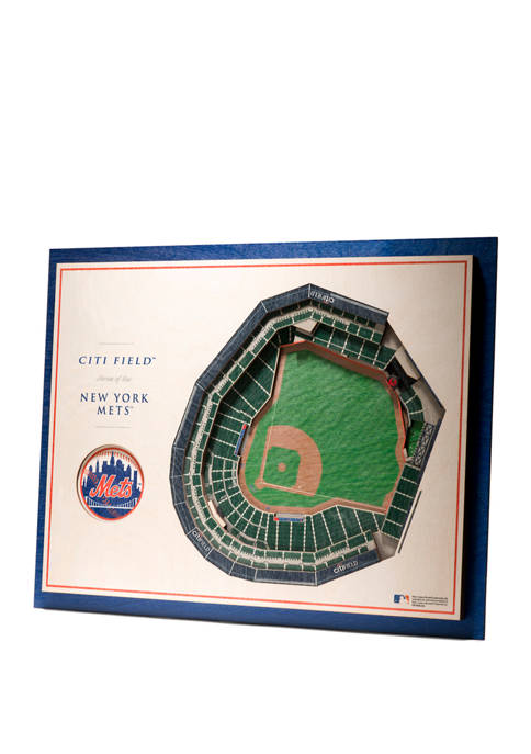 StadiumViews MLB New York Mets 5 Layer 3D