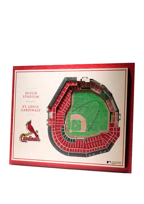 StadiumViews MLB St. Louis Cardinals 5 Layer 3D