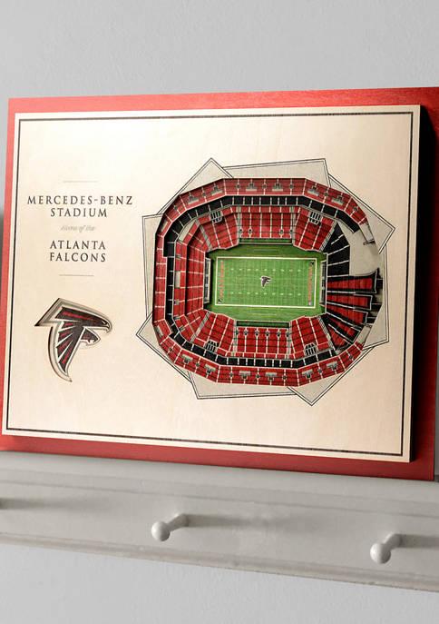 You The Fan NFL Atlanta Falcons 5-Layer StadiumViews