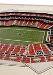 NFL Atlanta Falcons 5-Layer StadiumViews 3D Wall Art - Mercedes-Benz Stadium