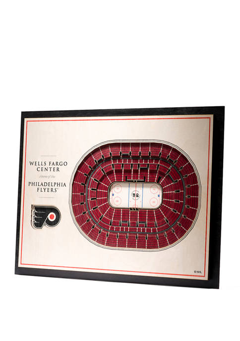 NHL Philadelphia Flyers 5 Layer StadiumViews 3D Wall