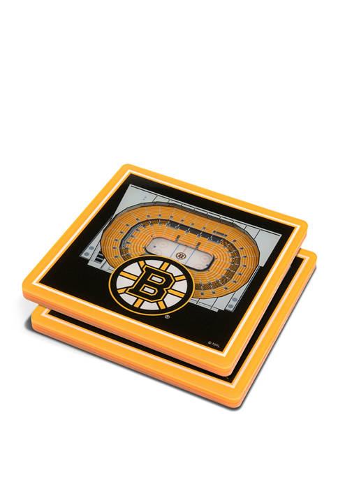 NHL Boston Bruins 3D StadiumViews Set of 2