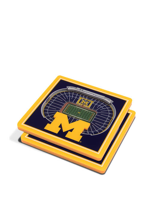 You The Fan NCAA Michigan Wolverines 3D Stadium
