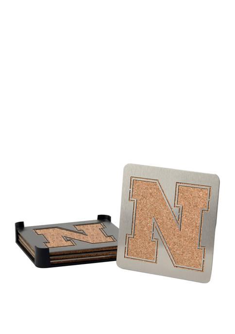 NCAA Nebraska Cornhuskers Boasters, Set of 4 Coasters