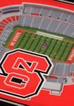 NCAA NC State Wolfpack 3D StadiumViews 2 Pack Coaster Set - Carter-Finley Stadium