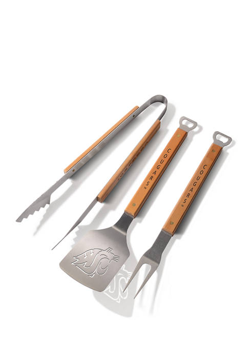 NCAA Washington State Cougars Classic Series 3 Piece BBQ Set