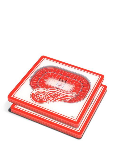 NHL Detroit Red Wings 3D StadiumViews Set of