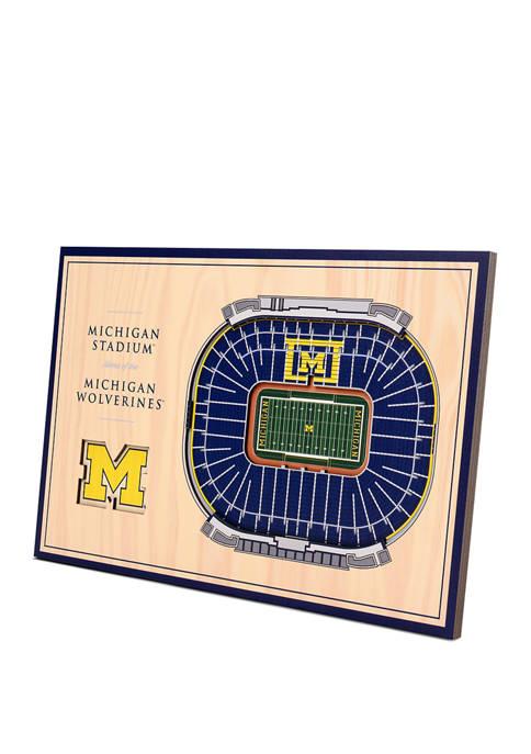 You The Fan NCAA Michigan Wolverines 3D StadiumViews
